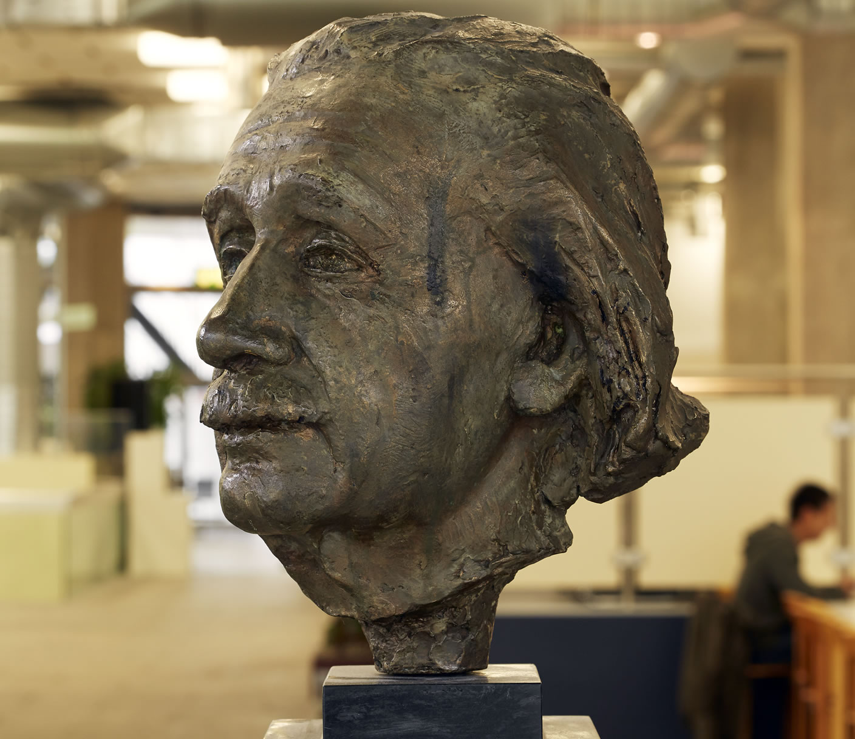 Bust of Albert Einstein, 1957