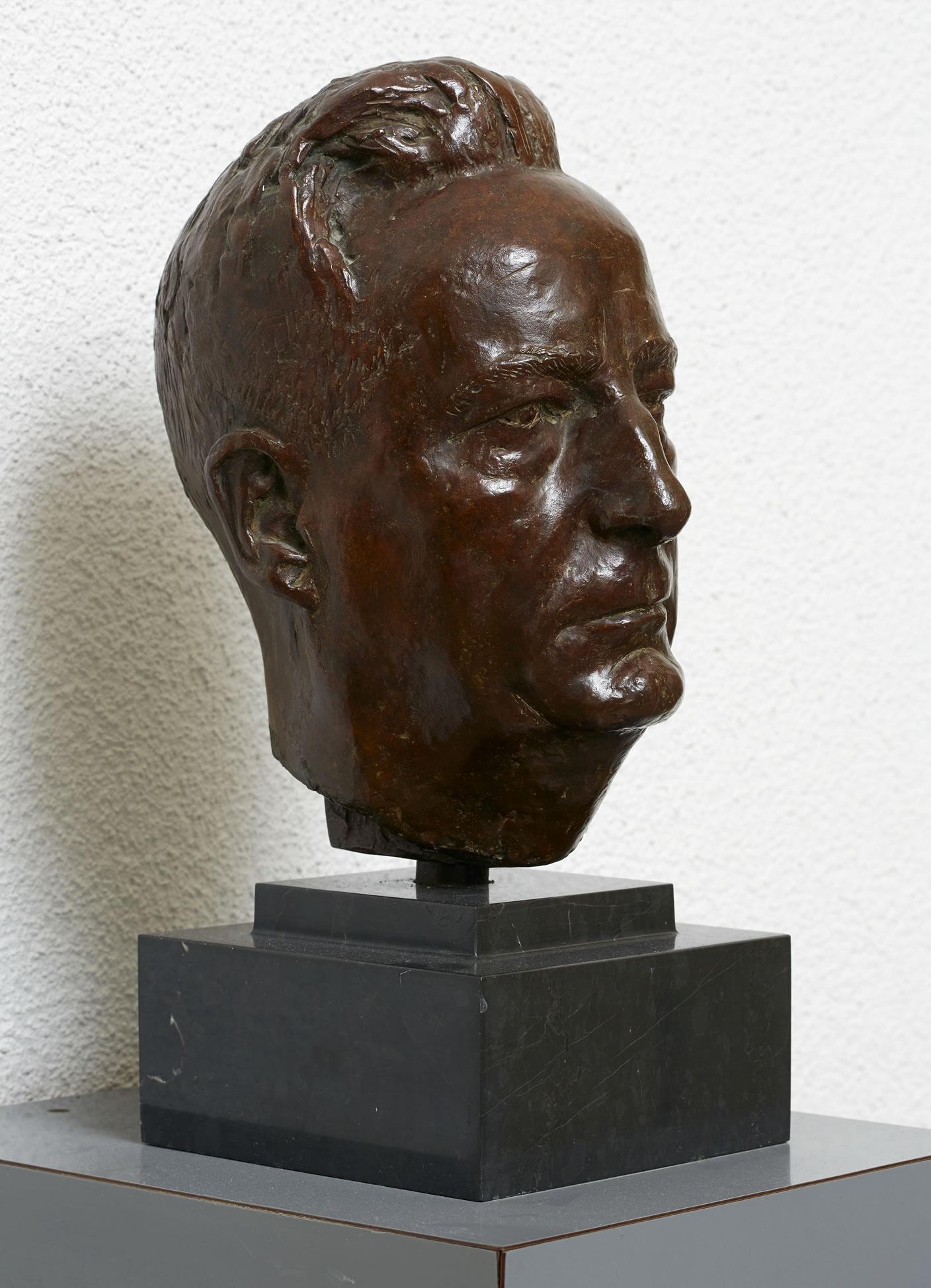 Bust Ernst Gäumann, 1951