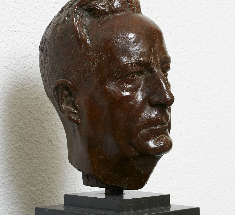 Büste Ernst Gäumann, 1951